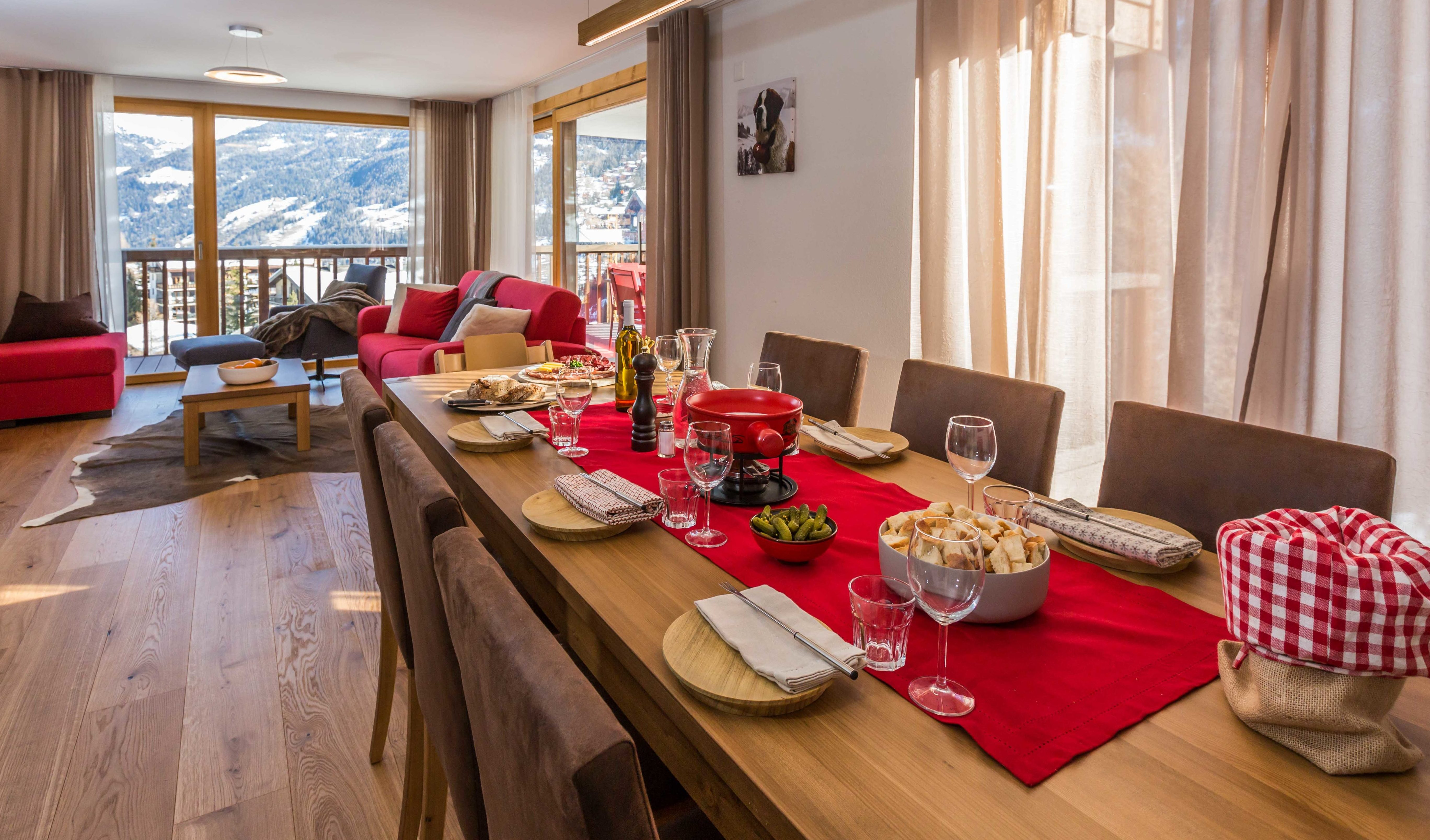 3 bdr apartment / Grimentz
