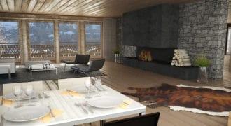 Le Montagnier 4bdr apartment / Champéry