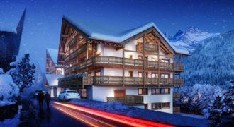 Le Montagnier 1bdr apartment / Champéry