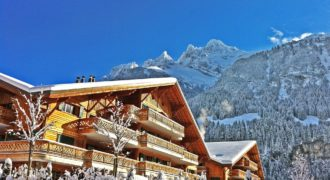 2 bedroom apartment with Garden / Champéry